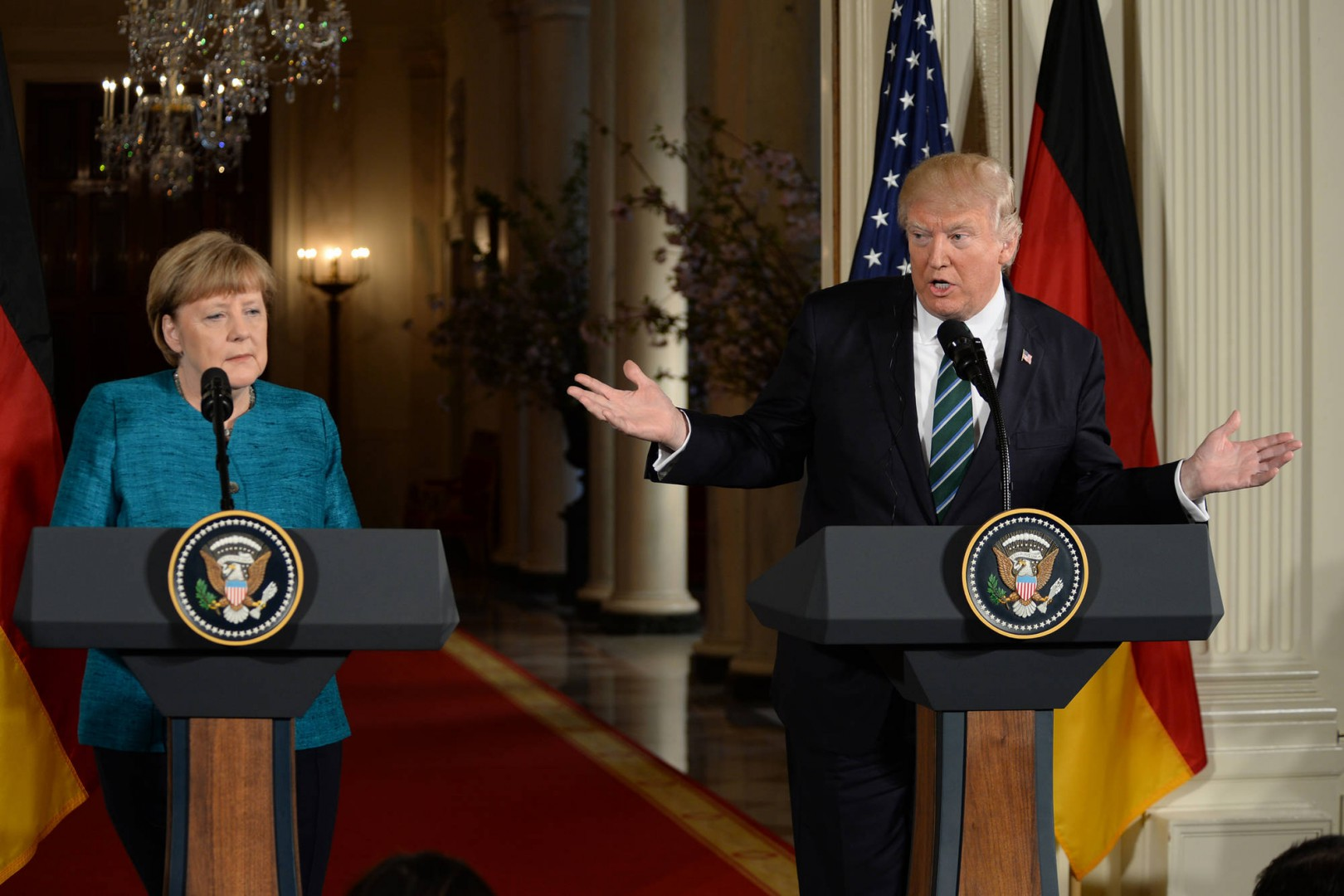Germania contro Trump